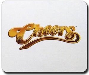 Cheers Logo Mousepad