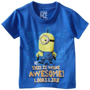 Despicable Me Minion This Is What Awesome Looks Like T-Shirt