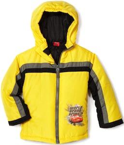 Disney Cars Winter Jacket
