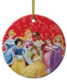 Disney Princesses Christmas Tree Ornament