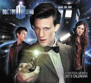 Doctor Who Wall Calendar 2013