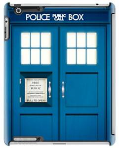 Doctor Who Tardis iPad Case