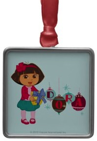 Dora The Explorer Christmas Ornament