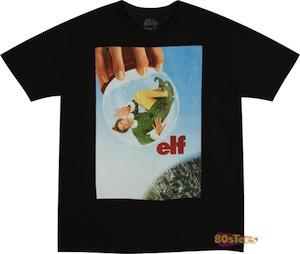 Elf Snow Globe T-Shirt