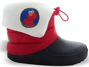 Sesame Street Elmo Toddler Winter Boots