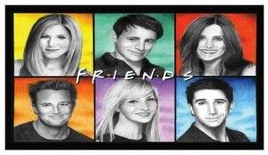 Friends Cast Fridge Magnet