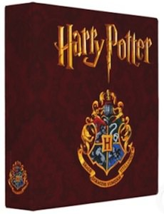 Harry Potter And Hogwarts Crest Binder