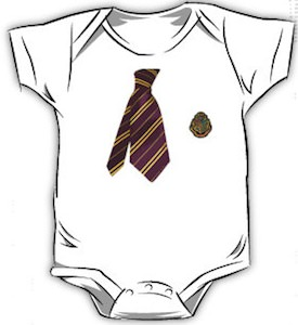 Harry Potter Uniform Baby Bodysuit