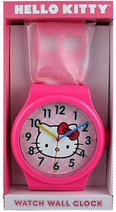 Hello Kitty Giant Watch Wall Clock