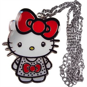 Hello Kitty With Bow Necklace
