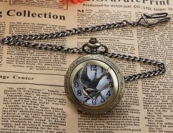 The Hunger Games Mockingjay Pocket Watch