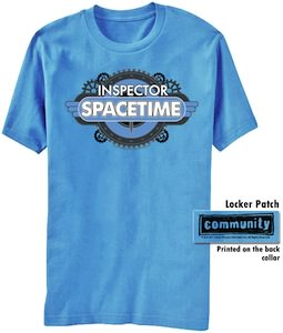 Community Inspector Spacetime T-Shirt