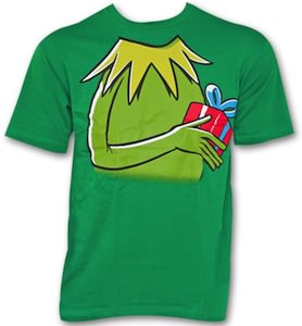 The Muppets Kermit And Gift Costume T-Shirt
