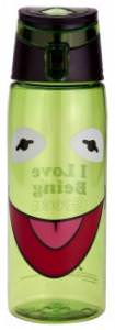 The Muppets Kermit I love Being Green Water Bottle
