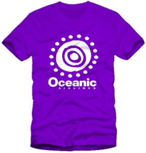 Lost Oceanic Airlines logo T-Shirt