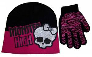 Monster High Winter Hat And Gloves