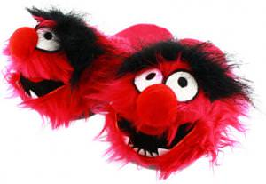 The Muppets Animal Plush Slippers