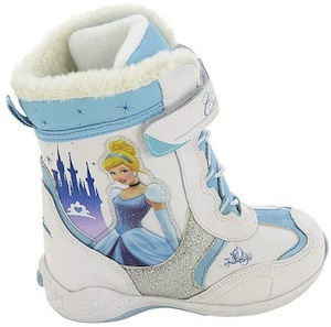 Disney Princess Cinderella Winter Boots