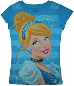 Disney Princess Cinderella Girls T-Shirt