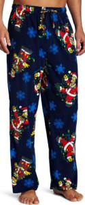 Simpsons Santa Homer Sleep Pants
