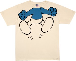 Smurf Body Costume T-Shirt