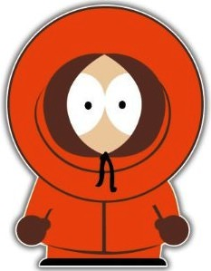 South Park Kenny Bumper Sticker