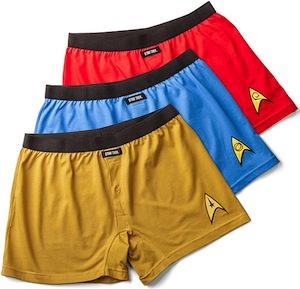 Star Trek Boxer Shorts 3 Pack