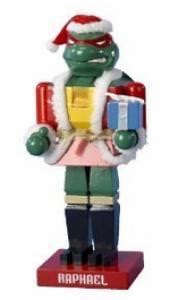 TMNT Raphael Nutcracker Figurine