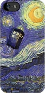 Tardis Vincent Van Gogh iPhone And iPod Touch Case