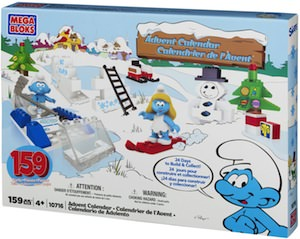 The Smurfs Mega Bloks Advent Calendar