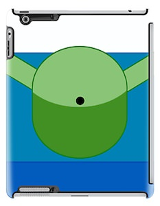 Adventure Time Finn iPad Case