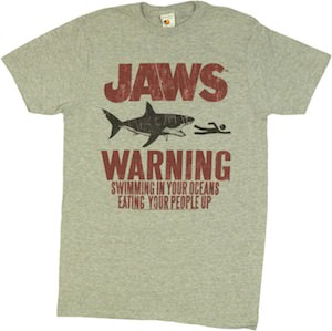 Jaws Warning T-Shirt