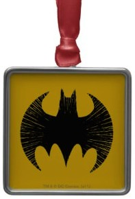 Batman Logo Christmas Ornament