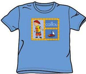 Caillou Set Sail T-Shirt for kids