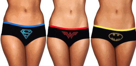 DC Comics Womens Underwear