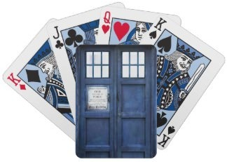 Tardis Playing Cards from Doctor Who