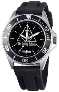 Harry Potter Deathly Hallows Logo Watch