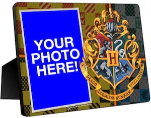 Harry Potter Hogwarts Crest Photo Frame