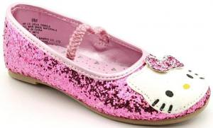Hello Kitty Glitter Ballet Flat Shoe