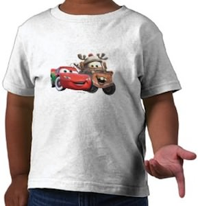 Lightning McQueen And Mater Christmas T-Shirt