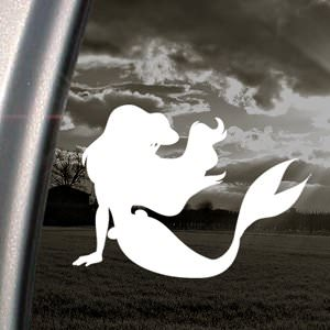 Ariels the Little Mermaid Window Decal