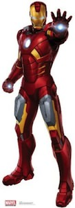 Iron Man Freestanding Cutout Poster