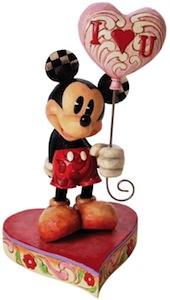 Mickey Mouse Hearts Figurine