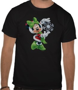 Minnie Mouse Snowflake T-Shirt