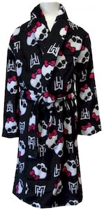 Monster High Plush Bath Robe