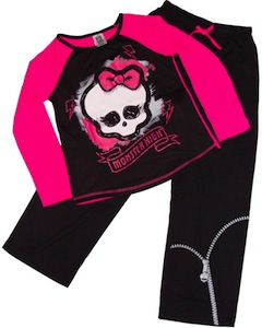Monster High Skull Girls Pajamas