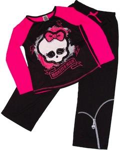 Monster High Skull Girls Pajamas