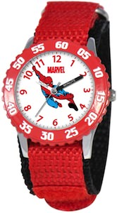 Marvel Spider-Man Time Teacher Kids Stanless Steel Watch