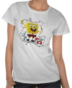Spongebob Holiday Lights T-Shirt