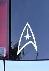 Star Trek Command Insignia Decal